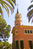 Park Guell. The famous Gaudi. House Museum Gaudi Royalty Free Stock Images