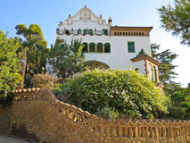 Park Guell royalty free stock image