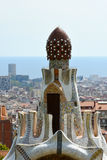 Park Guell gatehouse Royalty Free Stock Photos