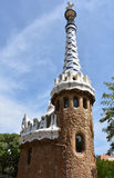 Park Guell gatehouse Stock Images