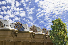 Park Guell by Gaudi in Barcelona Spain Stock Image