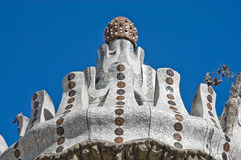 Park Guell located at Barcelona, Spain Royalty Free Stock Photo