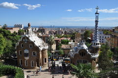 Park Guell. Royalty Free Stock Photography