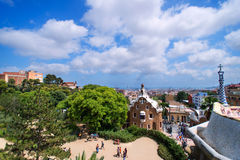 Park Guell sky Stock Photos