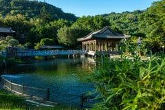 park Gugong pałac muzeum w Taipei, Tajwan obraz royalty free