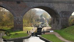 Park Head Locks and Viaduct Dudley UK Stock Photography