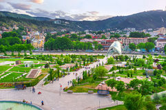 The park in heart of Tbilisi Royalty Free Stock Photos