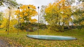 Park in Helsinki Finland Stock Photography
