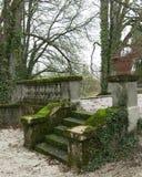 Park in het dorp Viry, Frankrijk Royalty-vrije Stock Afbeelding