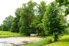 Park of Hmelita. Museum-Estate of A. S. Griboedov in Vyazma, Smolensk region Russia.  stock images