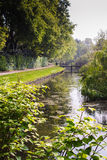 Park In Holland 1. A very idyllic park in right in the middle of the idyllic town of Bussum, Netherlands stock images