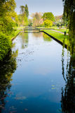 Park In Holland 2. A very idyllic park in right in the middle of the idyllic town of Bussum, Netherlands stock image