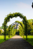 Park In Holland 3. A very idyllic park in right in the middle of the idyllic town of Bussum, Netherlands stock photo