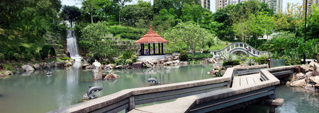 Park in Hong Kong Royalty Free Stock Photo