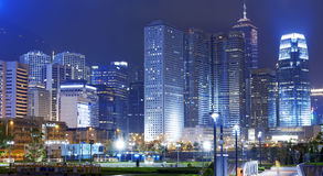 Park in HongKong City Stock Photo