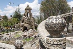 Park in Huancayo Peru royalty-vrije stock afbeelding