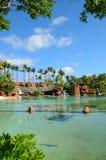 Park i den Atlantis paradisön Arkivfoto