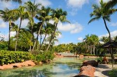 Park i den Atlantis paradisön Royaltyfri Foto