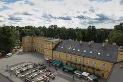 Park i pałac w KoszÄ™cin w Polska Zdjęcie Royalty Free