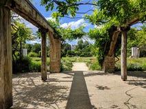 Park Ile St Germain, Paris Frankreich lizenzfreie stockbilder