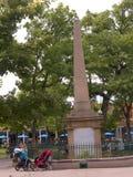 Park im Marktplatz in Santa Fe New Mexiko USA Lizenzfreie Stockfotografie