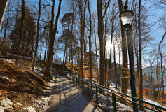 Park in Innsbruck Austria Royalty Free Stock Photos
