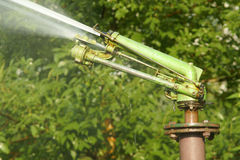 Park irrigation Royalty Free Stock Image