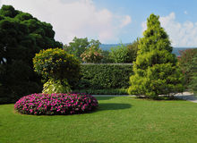 The park on the island of Isola Bella Royalty Free Stock Photos