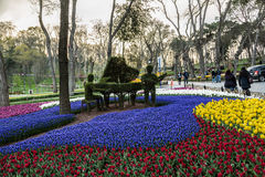 Park in Istanbul Royalty Free Stock Photo