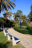 Park in Jaffa Royalty Free Stock Photo