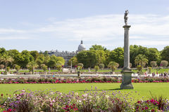 Park Jardin du Luxembourg, Paris, France Stock Images