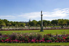 Park Jardin du Luxembourg, Paris, France Stock Photography