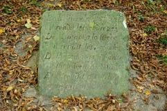 Park Jean-Jacques Rousseau in Ermenonville Stock Image