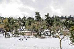 Park in Jerusalem Stock Photo