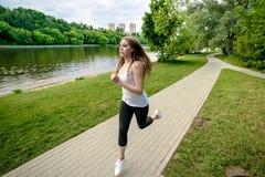 Park jogging Stock Photography