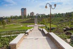 Park kamienie, Donetsk 2012 zdjęcia stock