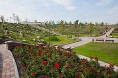 Park kamienie, Donetsk 2012 obraz stock