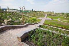 Park kamienie, Donetsk 2012 obrazy stock