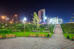 Park kamienie, Donetsk 2012 fotografia royalty free