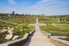 Park kamienie, Donetsk 2012 zdjęcie royalty free