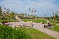 Park kamienie, Donetsk 2012 obraz royalty free