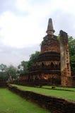 Park Kamphaeng Phet historischer Aranyik-Bereich, Buddha von Thailand Lizenzfreies Stockbild
