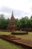 Park Kamphaeng Phet historischer Aranyik-Bereich, Buddha von Thailand Stockfotos