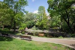 Park Kazimierza Wielkiego in Bydgoszcz Stock Photo