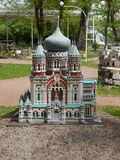 PARK KIEV IN MINIATURE, KIEV, UKRAINE stock photo