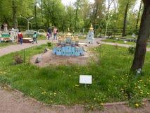PARK KIEV IN MINIATURE, KIEV, UKRAINE royalty free stock photos