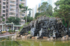Park in king lam court Stock Photography