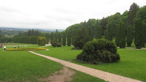 Park of kislovodsk. A walk in the Park on a summer day Stock Photography
