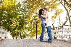 Park Kiss Stock Images