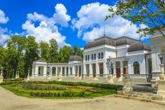 Park in Klausenburg-Napoca stockfotos